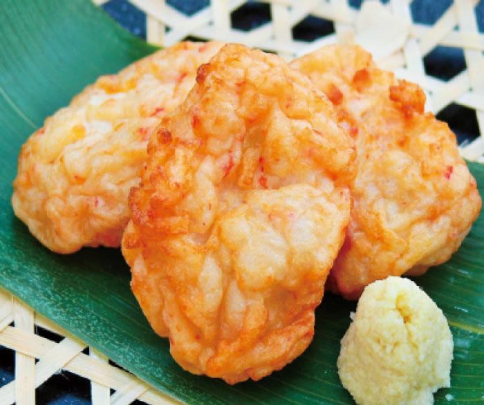 お魚のちらし揚(カニ風味)